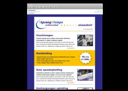 Spang & Tempo nieuwsbrief